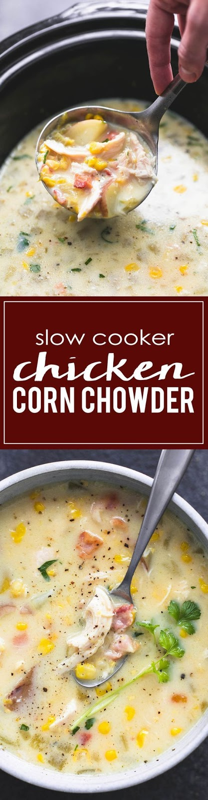 Slow Cooker Chicken Corn Chowder Recipes