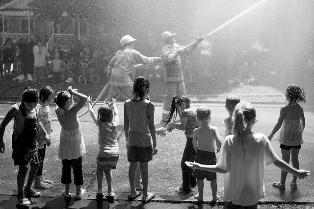 Alex Cooney, fotos inspiradoras, bomberos, children