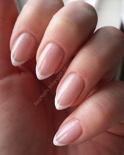 [Tutorial] Łatwy sposób na francuski manicure (french) dla każdego kształtu paznokcia :)