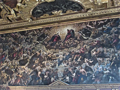 Doge's Palace in Venice- Tintoretto painting