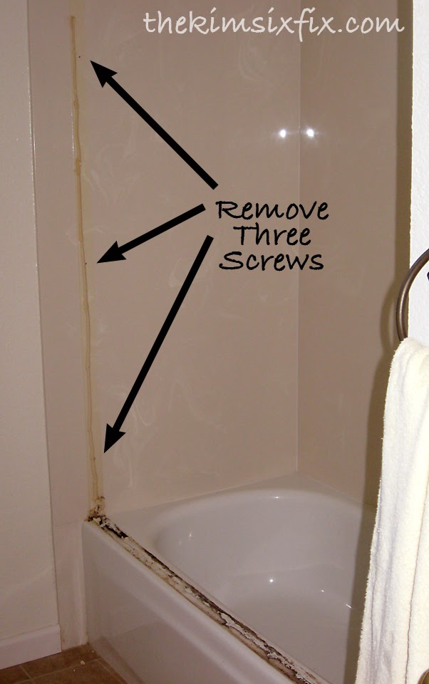 how to take shower doors off to clean