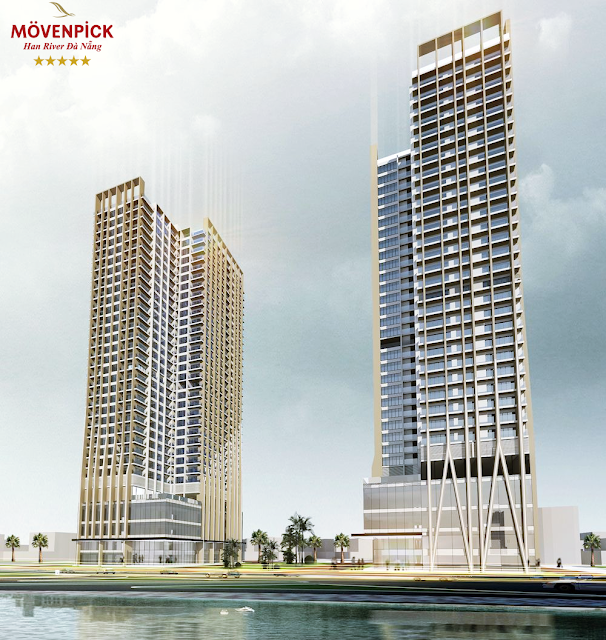 Phối cảnh dự án Movenpick Han River