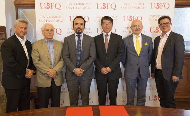 Una alianza que fomenta el uso de tecnología de vanguardia en la USFQ