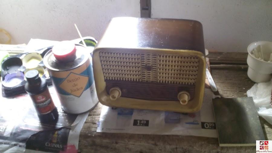 restauración de radios antiguas