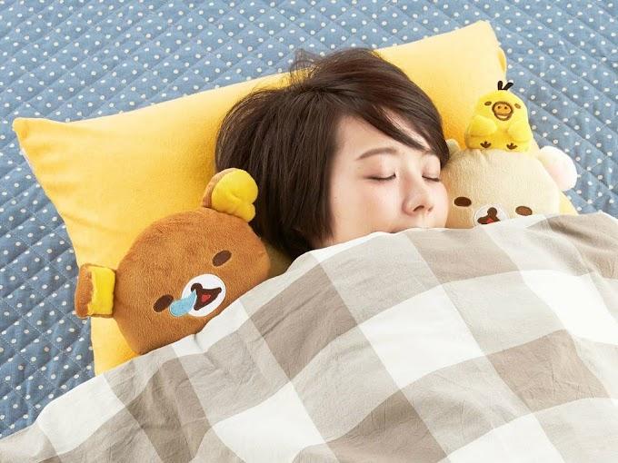 【女生至愛】鬆弛熊陪你入夢 超萌的枕套系列
