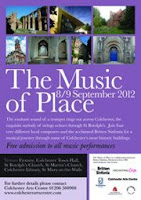 Music of Place 2012