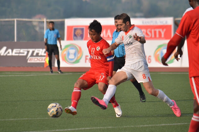 Hero Federation Cup Semis: Sporting held by Aizawl