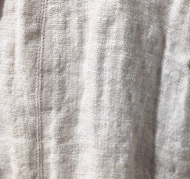 pas de calais【パドカレ】リネン透かし柄ジャケット◆香川・綾川店