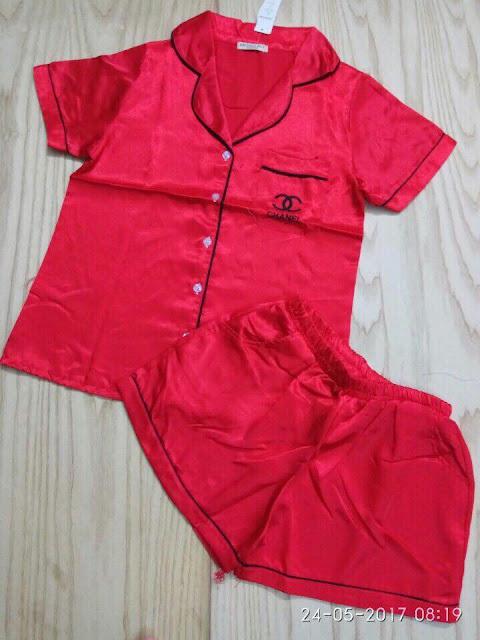 Set bộ short Pijama nữ