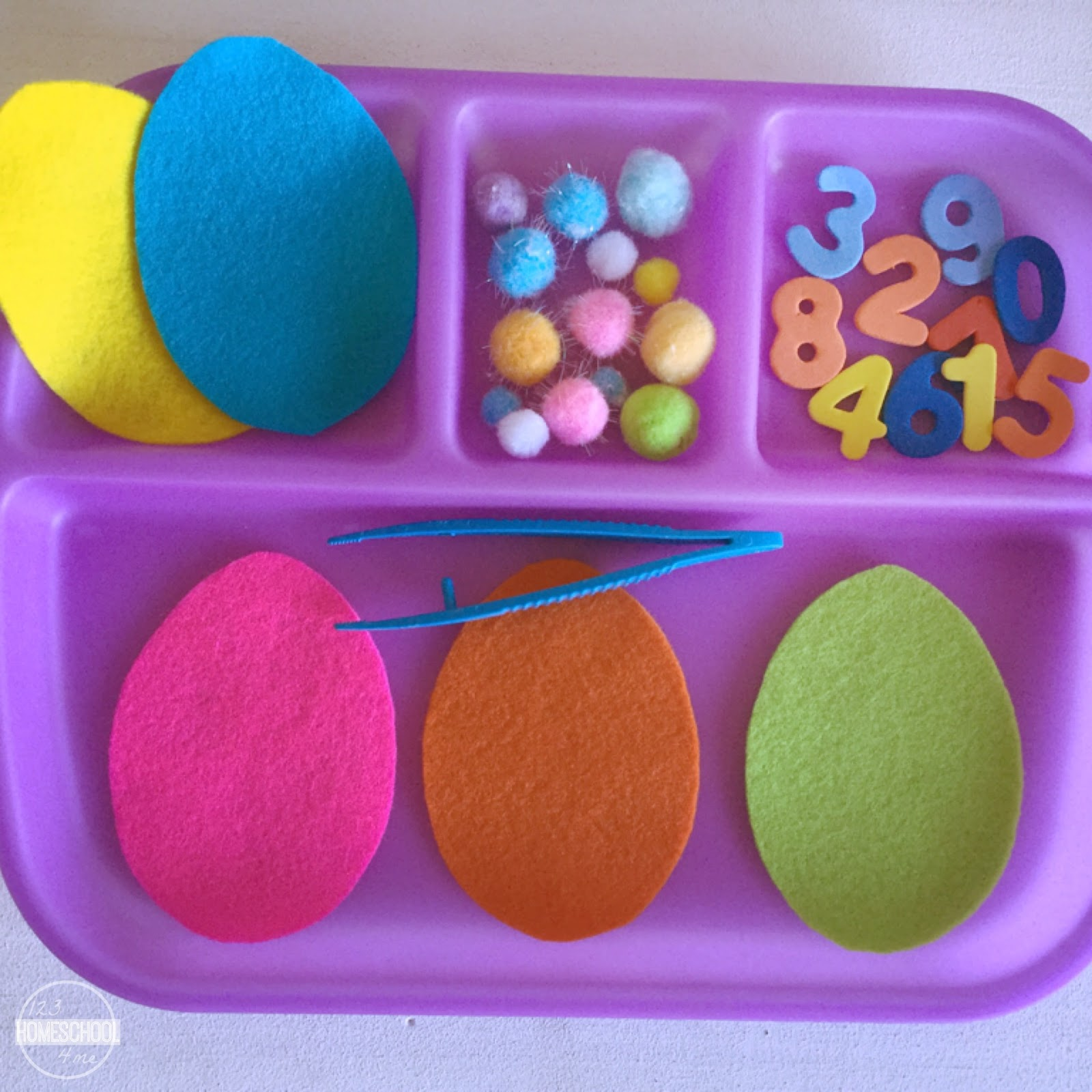 Easter Eggs Counting Acivity
