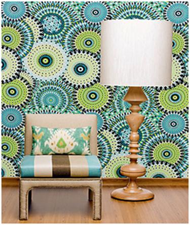 Resultado de imagem para paredes de sala decoradas com tecidos