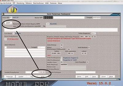 Solusi Error SPM GUP dengan ADK DRPP