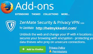 Mendapatkan Akun Zenmate Premium Gratis