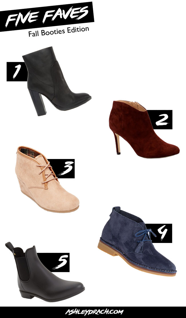Gorgeous Booties for Fall Style -AshleyDrach Blog