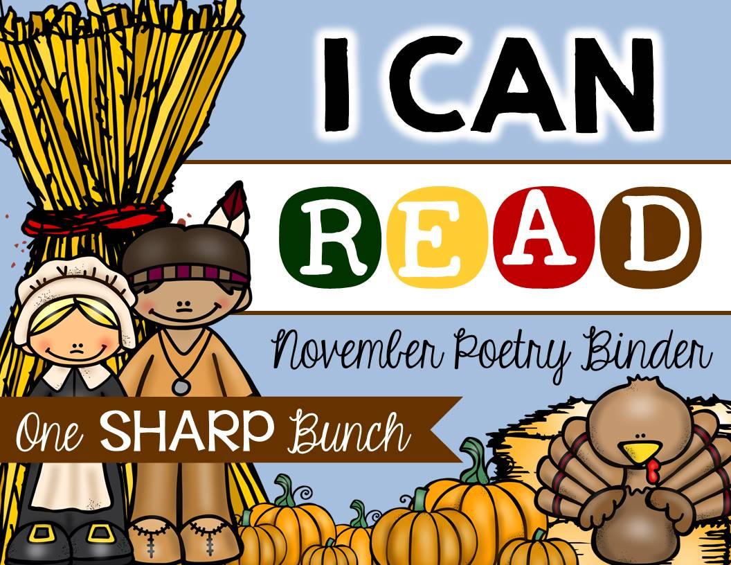 http://www.teacherspayteachers.com/Product/I-Can-Read-Poetry-Binder-November-1533033