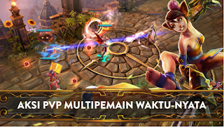 Download Vainglory V2.0.1 MOD Apk + Data Terbaru