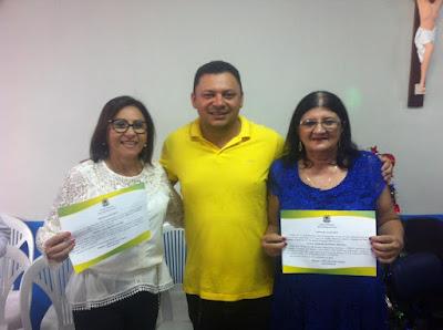 Resultado de imagem para Maria Alda Romão Soares e Eliza Assis de Oliveira Borges