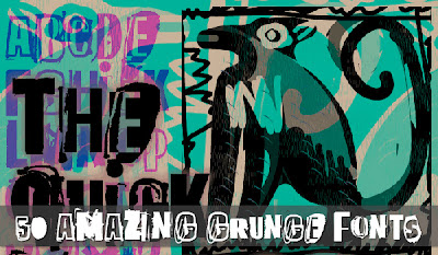 Descargar fuentes estilo Grunge