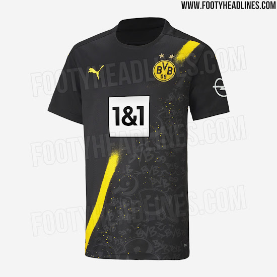 Dortmund 20 21 Away Kit Released Footy Headlines