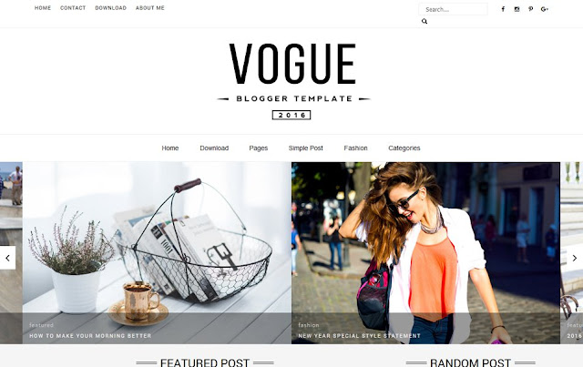 Vogue-Responsive-Blogger-Template