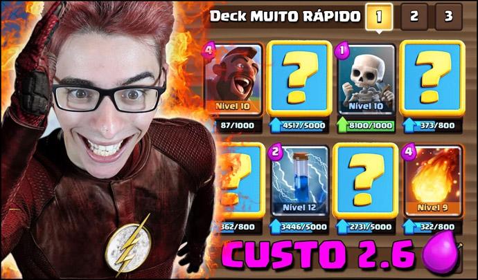 ▶️ O novo deck mais rápido do Clash Royale - 1