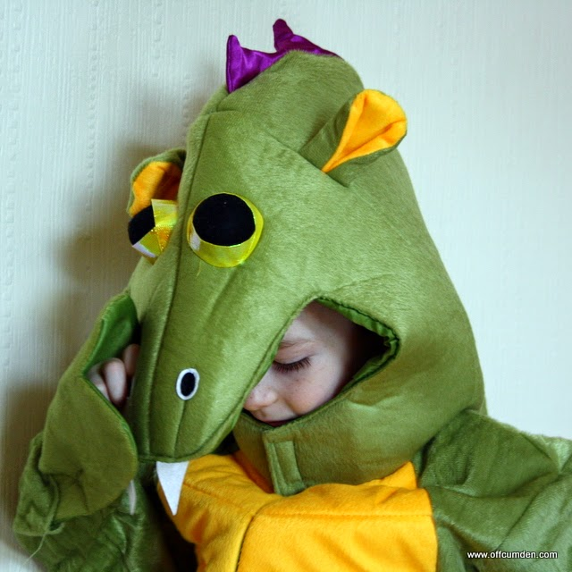 Dragon dressing up costume