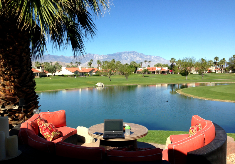 Desert Falls Country Club golf course view, Palm Springs California, Palm Desert California, Palm Desert Hikes