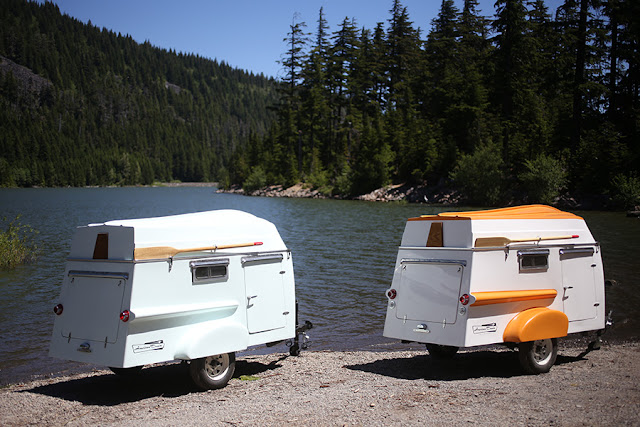 camping shelters trailer