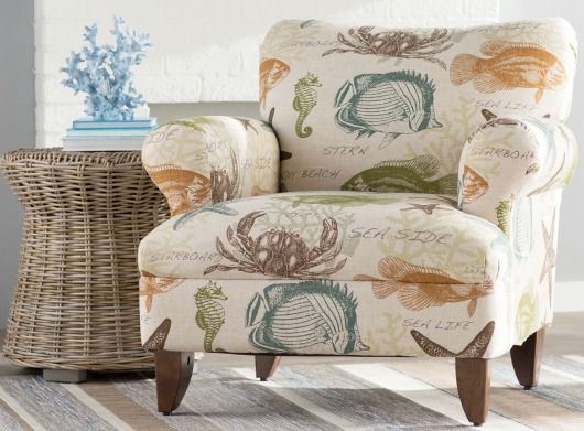 Coastal Upholstered Chairs From Wayfair Completely Coastal