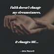 Are You Being Asked to Make Changes? To Step Out in Faith?