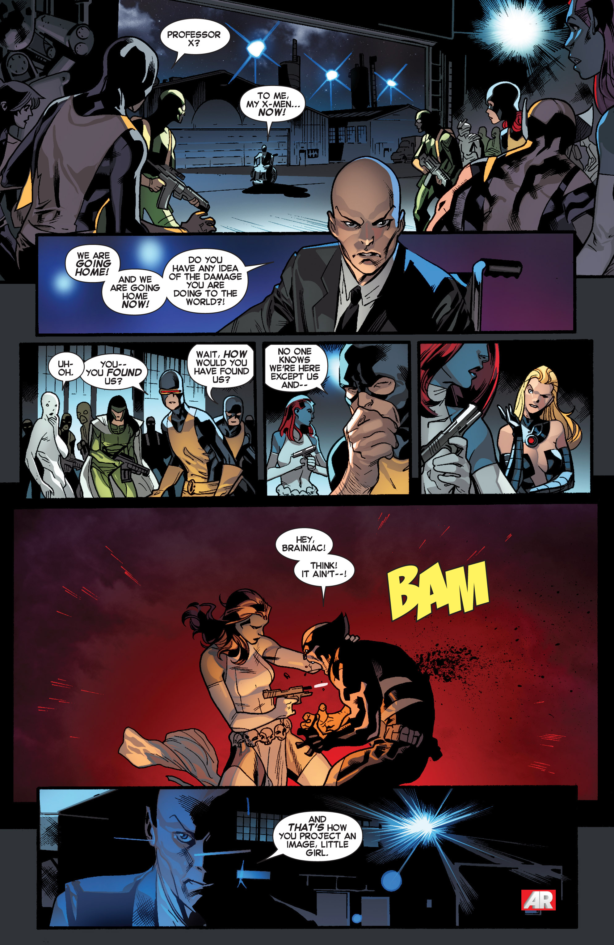 Read online All-New X-Men (2013) comic -  Issue # _Special - Out Of Their Depth - 74