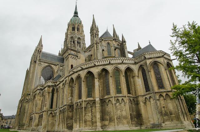 Catedral Bayeux viaje Normandia lugares de interés  Francia