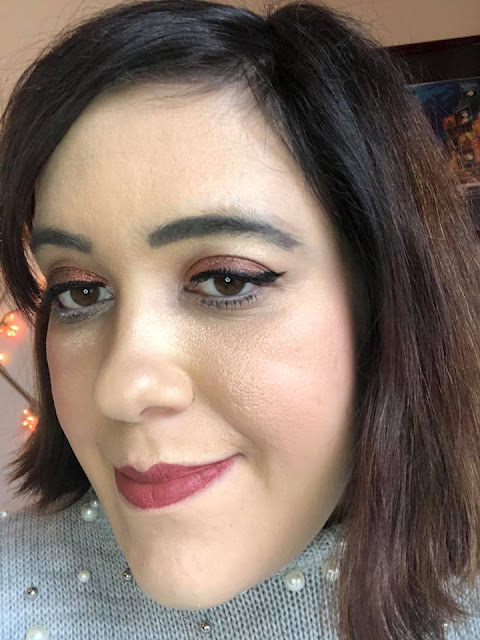 maquillage avec la Palette Rose Golden de Zoeva