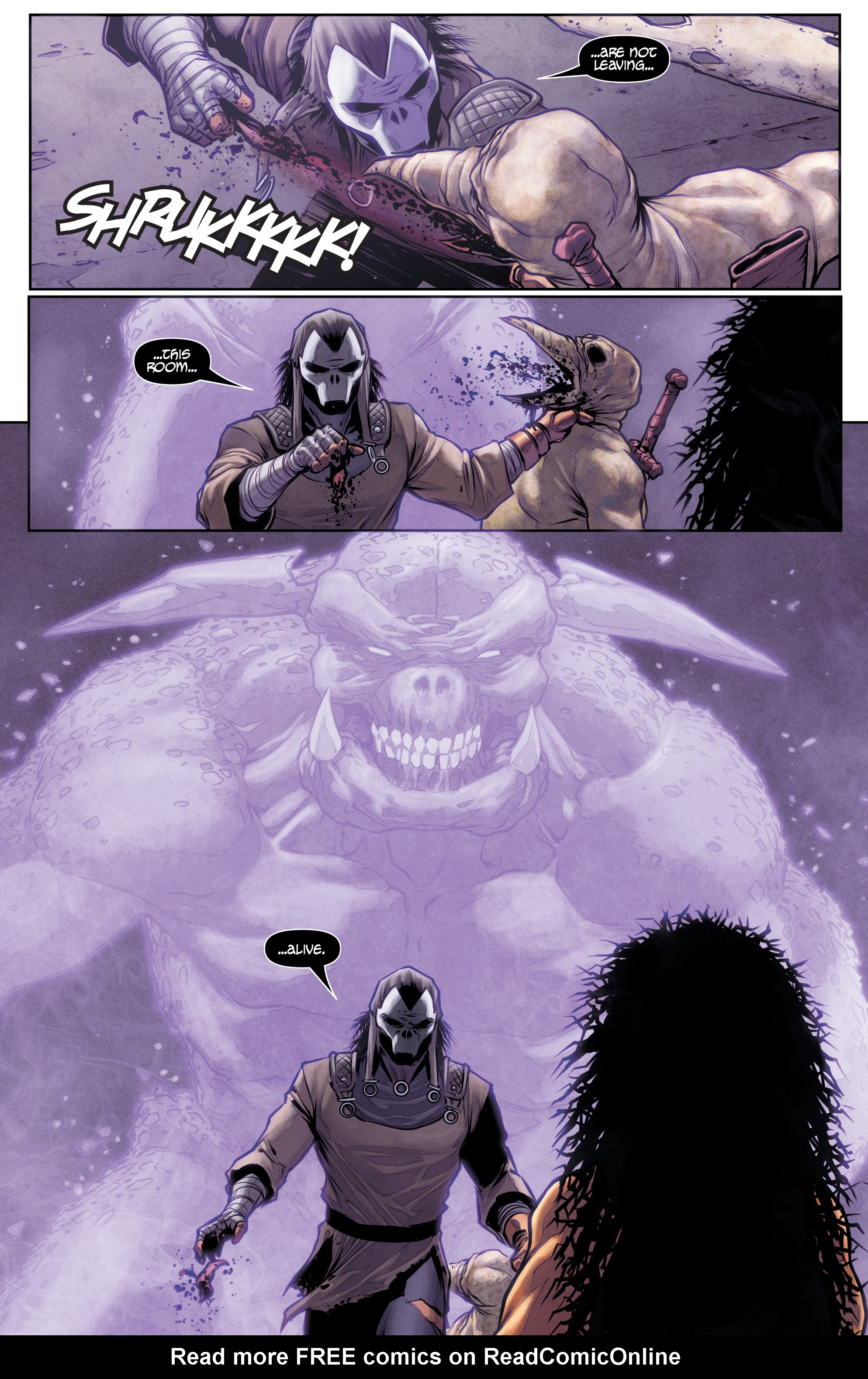 Read online Rapture comic -  Issue #2 - 24
