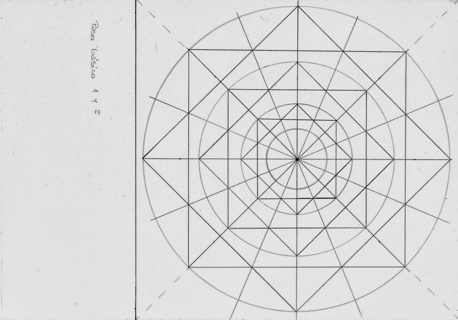 Dibujo De Mandala 11 Para Pintar Y Colorear En Línea: Mandalas: Cómo Dibujarlos Paso A Paso