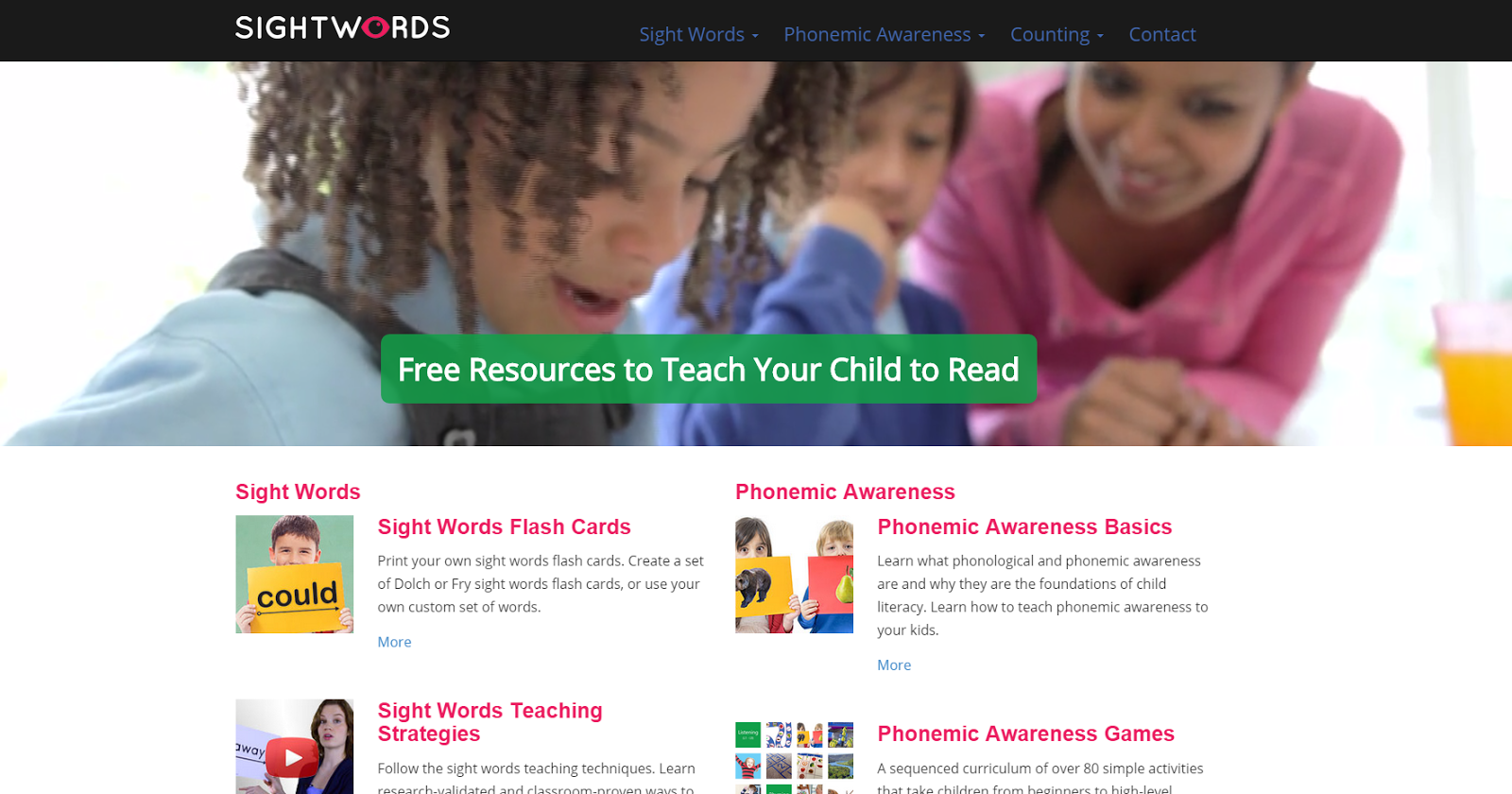 Mommy Maestra: SightWords.com: A Free Online Reading Curriculum