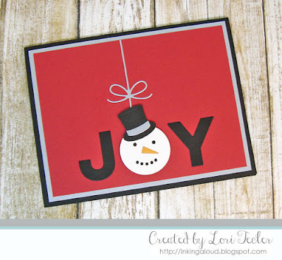 Joy card-designed by Lori Tecler/Inking Aloud-dies from My Favorite Things