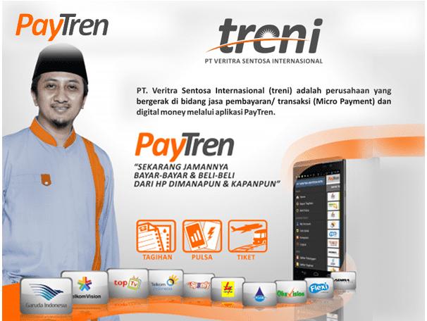 Cara Kerja Bisnis PayTren, Bisnis Online Syariah