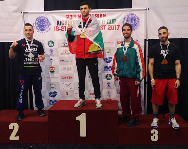 Srebrny medal na Hungarian Kickboxing World Cup 2017!