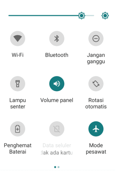 Mode Pesawat Android