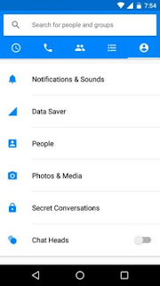 Messenger Data Saver mode