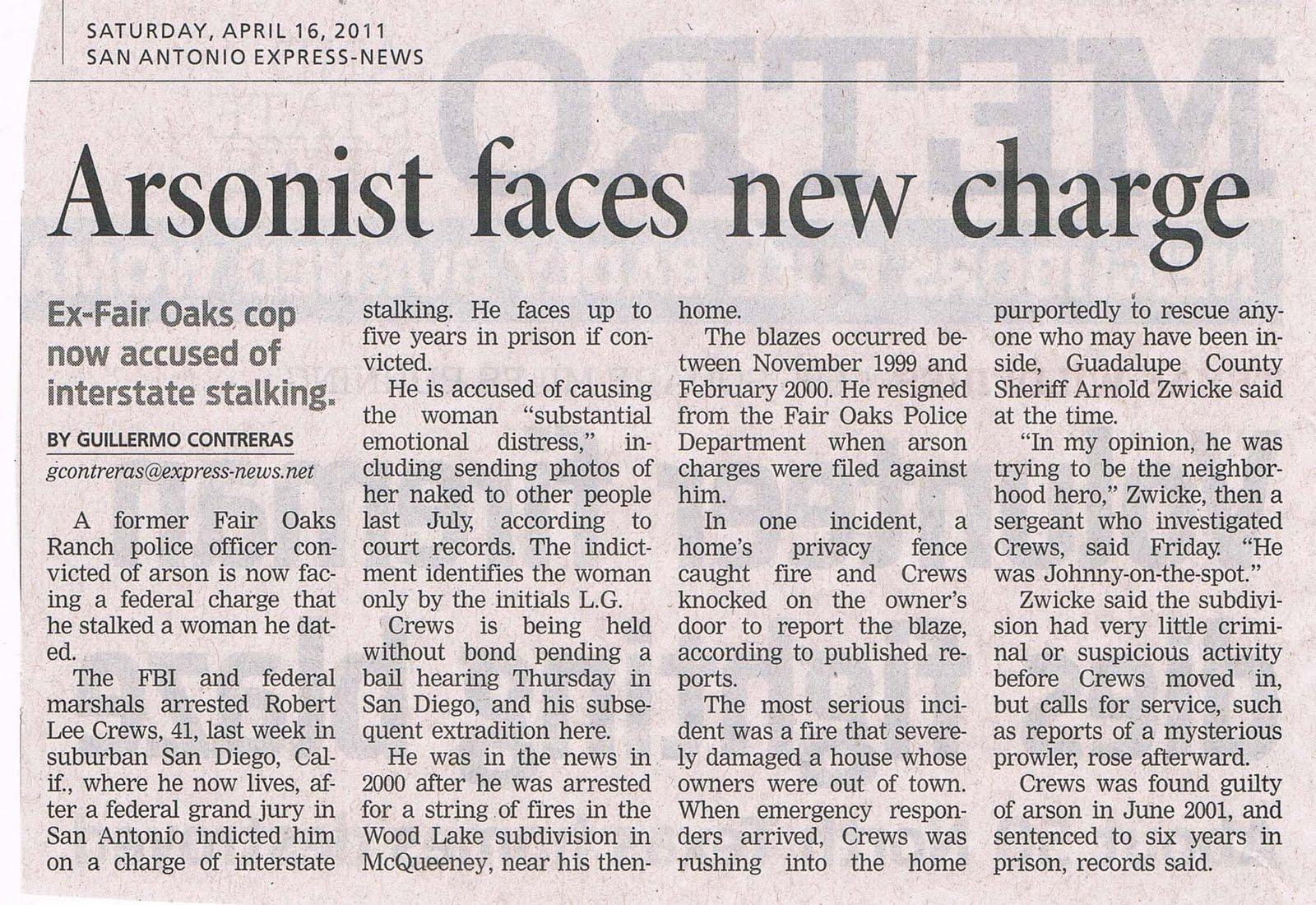 article upon prepared crime