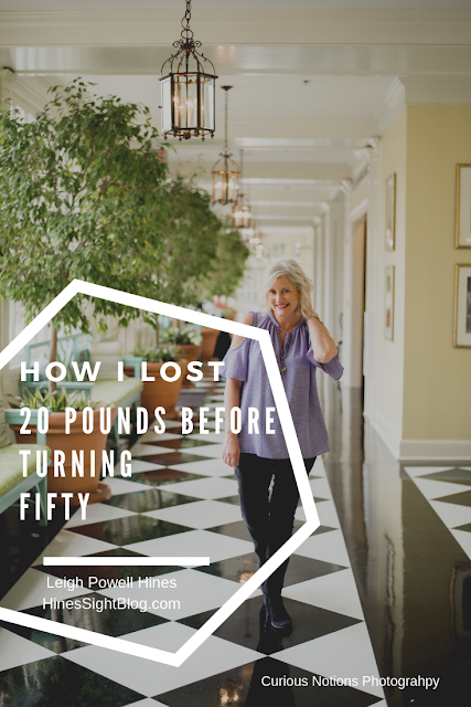 How Lifestyle Blogger, Leigh Powell Hines, of the HinesSightBlog lost 20 pound before turning 50. She did one simple thing that helped her achieve her weight loss carb goals.