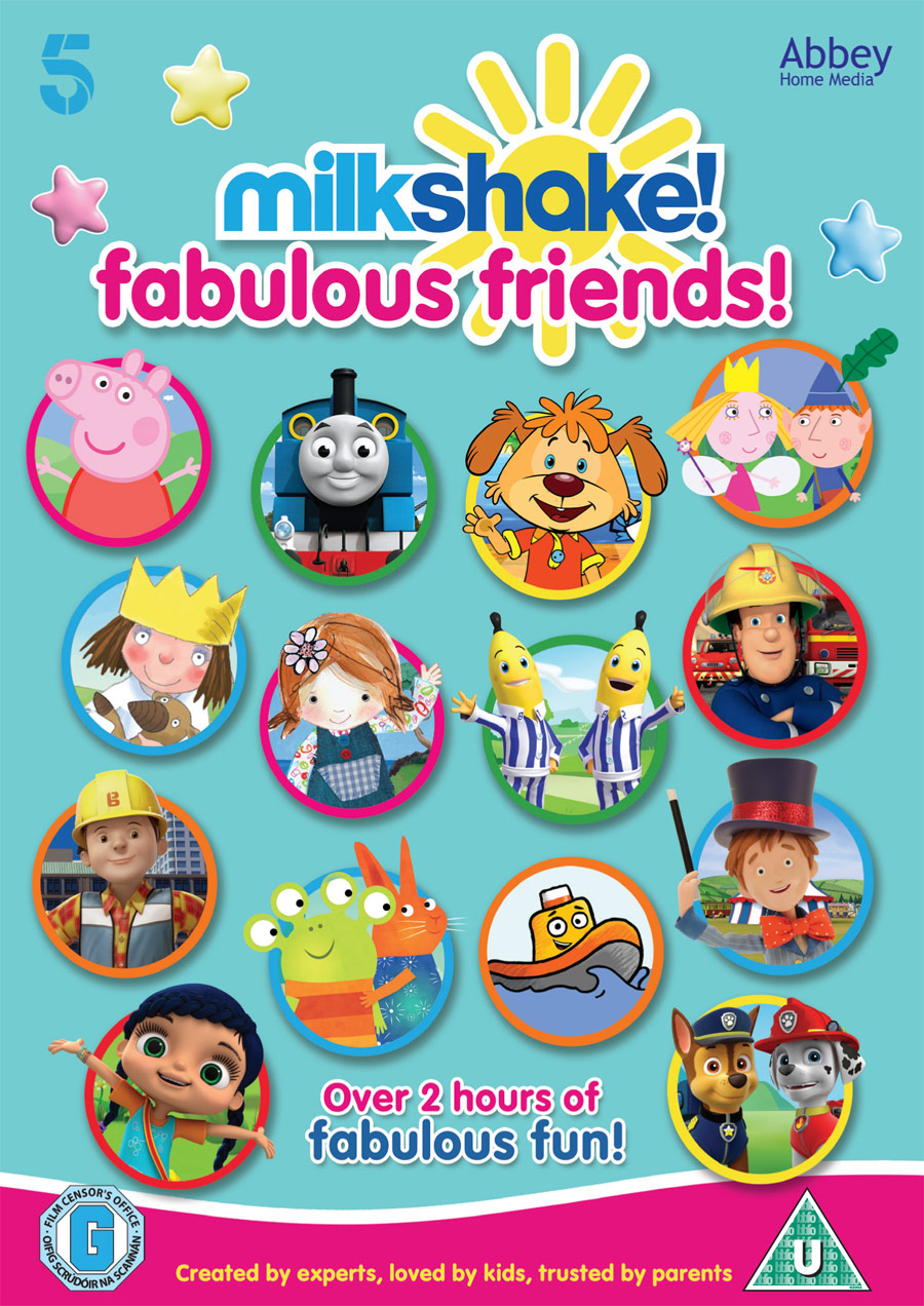Milkshake! Fabulous Friends DVD