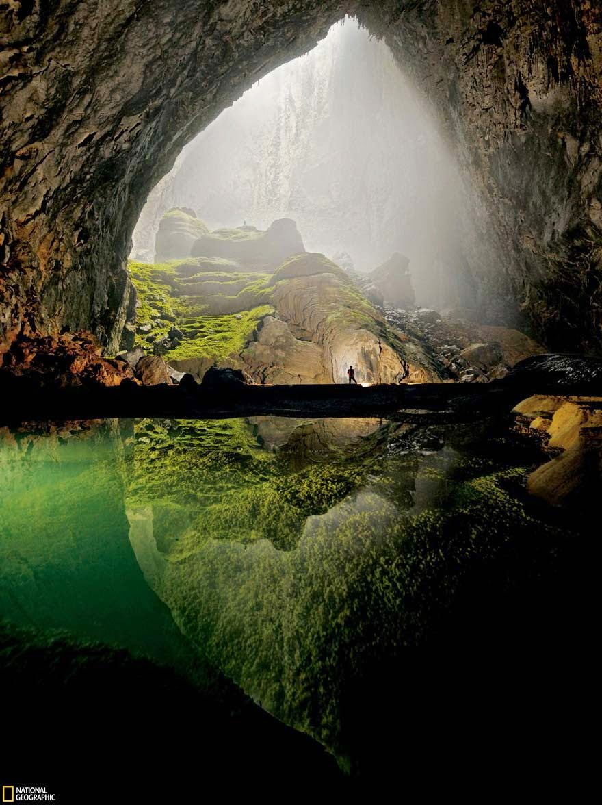 14. Son Doong Cave in Vietnam - 29 Unbelievable Locations That Look Like They're Located On Another Planet