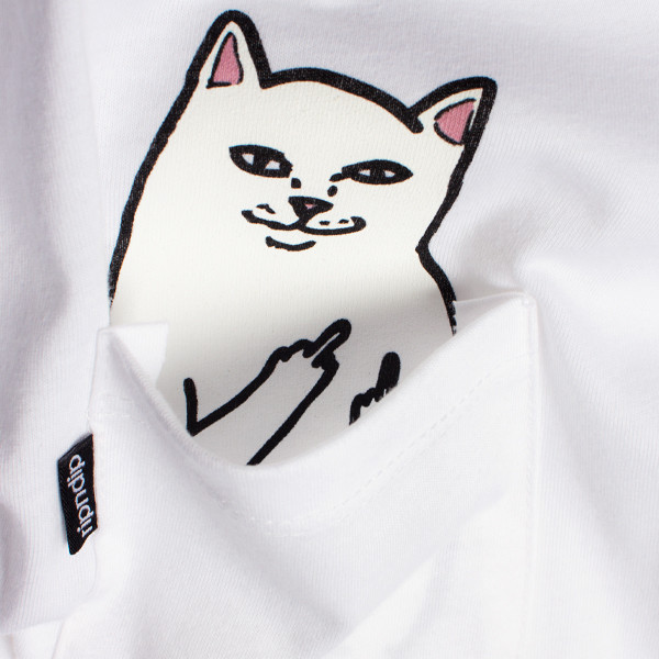 Atomlabor Fashion Tipp : Das T-Shirt des Tages : Hidden Cat Answer - LORD NERMAL von RIPNDIP