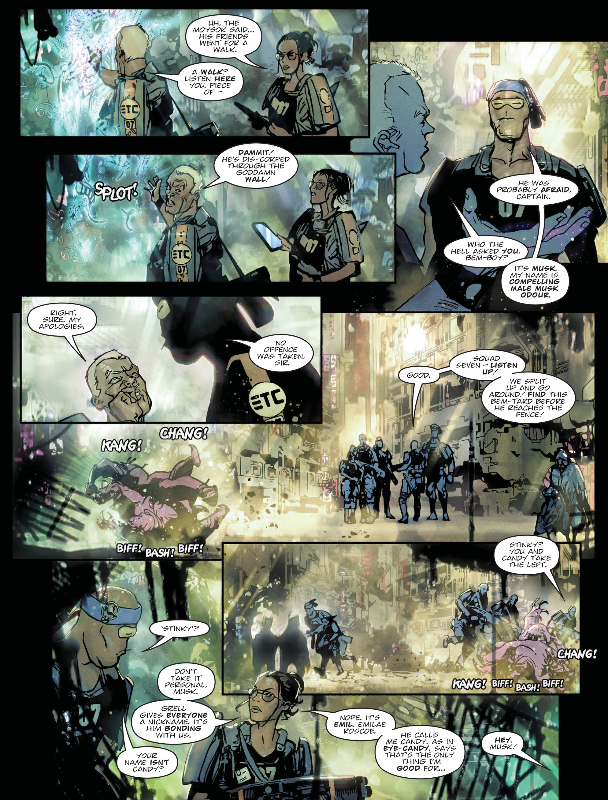 Read online 2000 AD comic -  Issue #2036 - 22