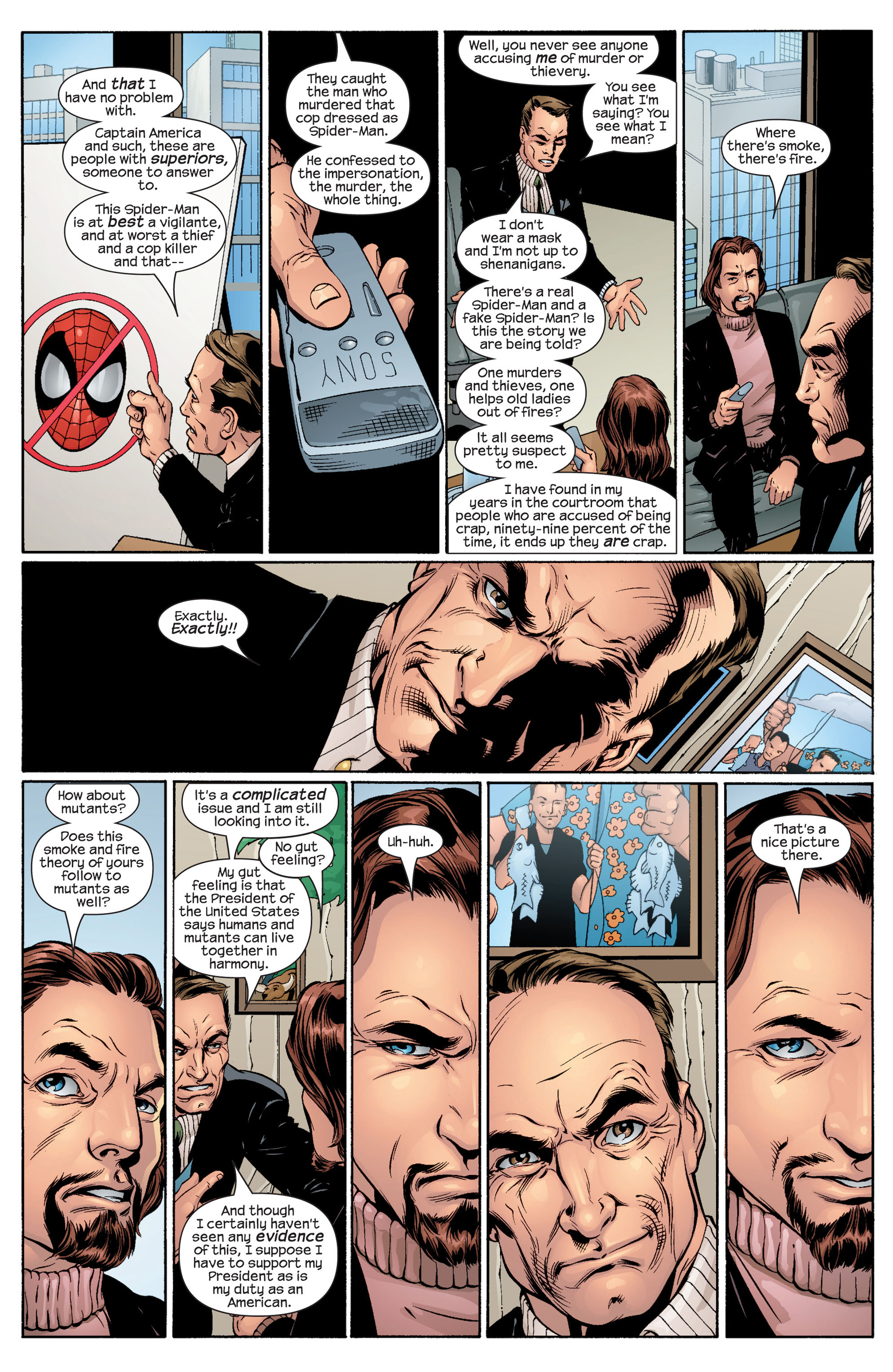 Read online Ultimate Spider-Man (2000) comic -  Issue #48 - 16