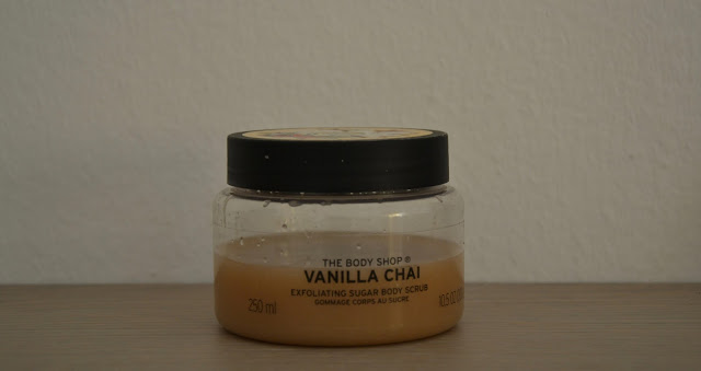 Review: The Body Shop Scrub Vanilla Chai
