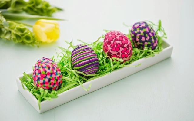 Αυγά από ...πλαστελίνη
